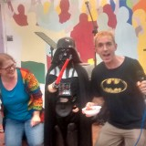 Glo Nite Halloween Alternative - an interview with Darth Vader