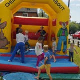 Church bouncy castle